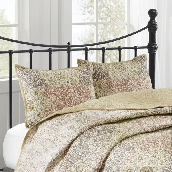 Harbor House Sanya Spice Cotton Percale Quilted Sham