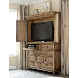 A.R.T. Furniture Pavilion Barley Wood and Veneer Master Chest