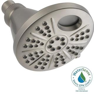 Delta Temp2O 6-Spray 6 in. Showerhead in Stainless