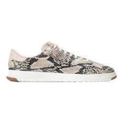 Women's Cole Haan Grand Pro Tennis Sneaker Roccia Snake Print Leather