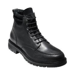 Men's Cole Haan Grantland 6in Waterproof Lace Up Boot Black Waterproof Leather (More options available)