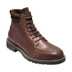 Men's Cole Haan Grantland 6in Waterproof Lace Up Boot Burnt Chili Waterproof Leather