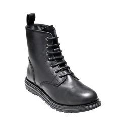 Women's Cole Haan Lockridge Grand 6in Waterproof Lace Up Boot Black Waterproof Leather