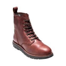 Women's Cole Haan Lockridge Grand 6in Waterproof Lace Up Boot Burnt Chilli Waterproof Leather