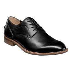 Men's Florsheim Frisco Plain Toe Oxford Black Smooth Leather