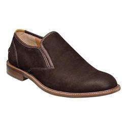 Men's Florsheim Frisco Plain Toe Slip On Brown Nubuck