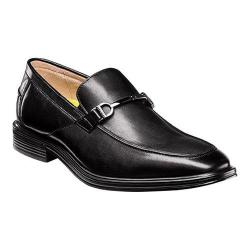Men's Florsheim Heights Bit Slip On Black Smooth Leather