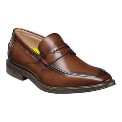 Men's Florsheim Heights Penny Slip On Cognac Smooth Leather
