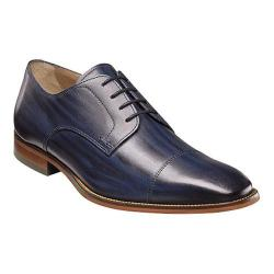 Men's Florsheim Sabato Cap Toe Oxford Indigo Hand Brushed