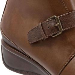 Women's Trotters Mindy Ankle Boot Cognac Leather