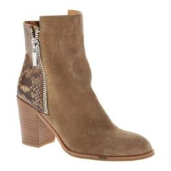 Women's Kenneth Cole New York Ingrid Ankle Boot Natural Suede/Multi Embossed Leather