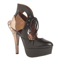 Women's Hades Asmara Cut Out Bootie Black