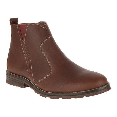8f77d33d916 Men's Hush Puppies Action Parkview Ice+ Ankle Boot Tan Waterproof Leather