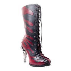 Women's Hades Pyra Flame Boot Burgundy