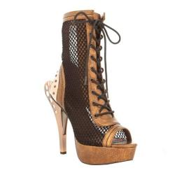 Women's Hades Scarlet Caged Sandal Brown (5 options available)
