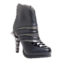 Women's Hades Sidhe Layered Ankle Boot Black