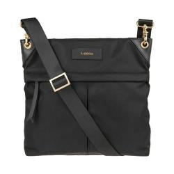 Women's Lodis Blair Nylon Under Lock/Key Caryn Travel Crossbody Black