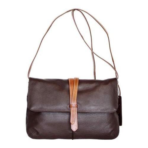 0e3970040fb Shop Women s Nino Bossi Petunia Bud Cross Body Bag Chocolate - Free  Shipping Today - Overstock - 12973525