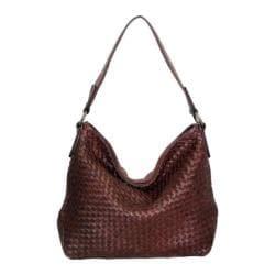 Women's Nino Bossi Daisy Bloom Shoulder Bag Walnut