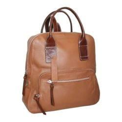 Women's Nino Bossi Lily Petal Backpack Cognac