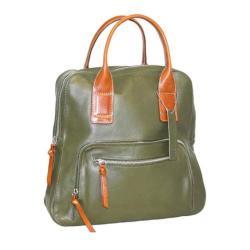 Women's Nino Bossi Lily Petal Backpack Green
