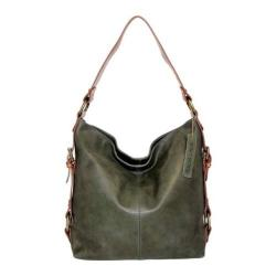 Women's Nino Bossi Lotus Bloom Shoulder Bag Pine