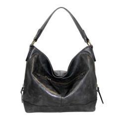 Women's Nino Bossi Magnolia Bloom Shoulder Bag Black