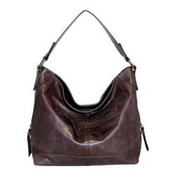 Women's Nino Bossi Magnolia Bloom Shoulder Bag Chocolate