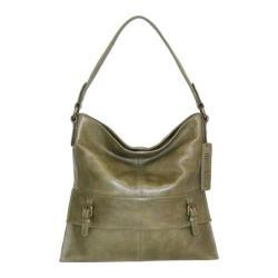 Women's Nino Bossi Orchid Bud Shoulder Bag Green