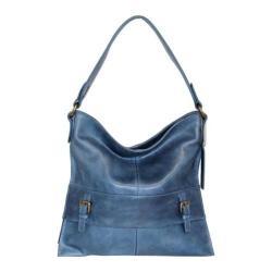 Women's Nino Bossi Orchid Bud Shoulder Bag Washed Blue