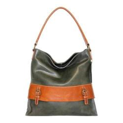 Women's Nino Bossi Orchid Petal Shoulder Bag Pine