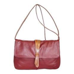Women's Nino Bossi Petunia Bud Cross Body Bag Cabernet