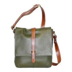 Women's Nino Bossi Tulip Bud Cross Body Bag Green