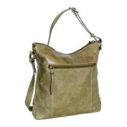 Women's Nino Bossi Tulip Petal Cross Body Bag Green