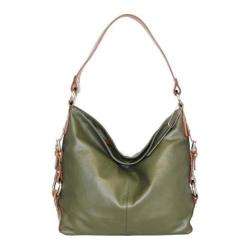 Women's Nino Bossi Violet Bloom Bucket Bag Green