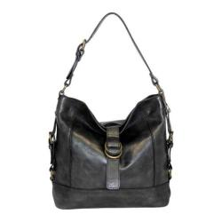 Women's Nino Bossi Violet Petal Shoulder Bag Black