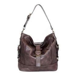 Women's Nino Bossi Violet Petal Shoulder Bag Chocolate