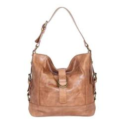 Women's Nino Bossi Violet Petal Shoulder Bag Nut