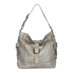 Women's Nino Bossi Violet Petal Shoulder Bag Stone