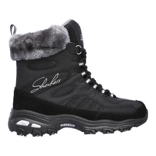 Skechers D Lites Shoes No Laces
