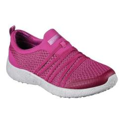 Women's Skechers Burst Very Daring Slip On Sneaker Fuchsia