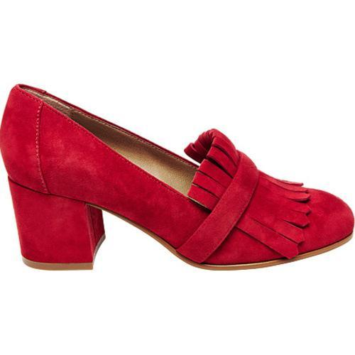7f5d015ca1e Shop Women s Steve Madden Kate Kiltie Heel Red Suede - Free Shipping Today  - Overstock - 12973609