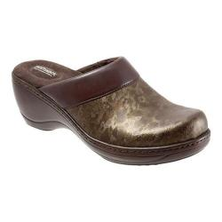 Women's SoftWalk Murietta Bronze Marble Leather