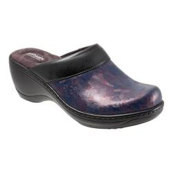 Women's SoftWalk Murietta Burgundy Marble Leather