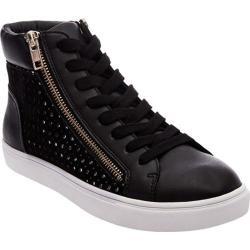 Women's Steve Madden Elyka High Top Sneaker Black Multi Synthetic