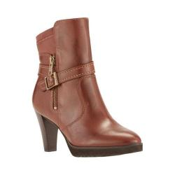 Women's Walking Cradles Tacoma Bootie Tobacco Cashmere Leather/Stretch