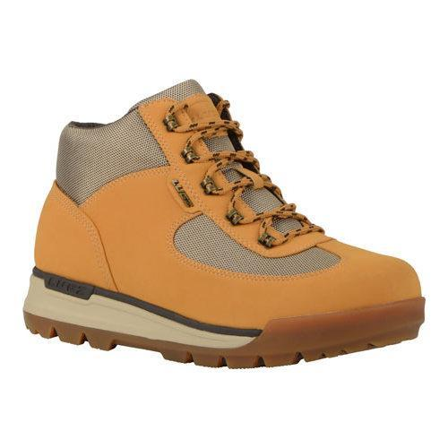 Men's Lugz Flank Hiking Boot Golden Wheat/Cream/Gum Durabrush