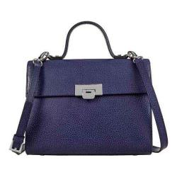 Women's Lodis Stephanie Under Lock & Key Bree Medium Crossbody Midnight