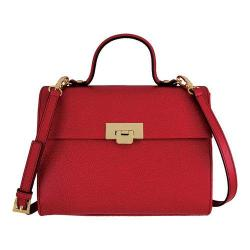 Women's Lodis Stephanie Under Lock & Key Bree Medium Crossbody Red