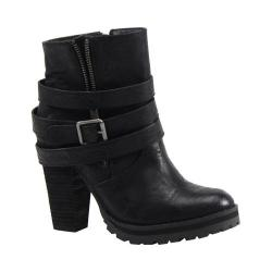 Women's Luichiny Holiday Week Ankle Boot Black Leather